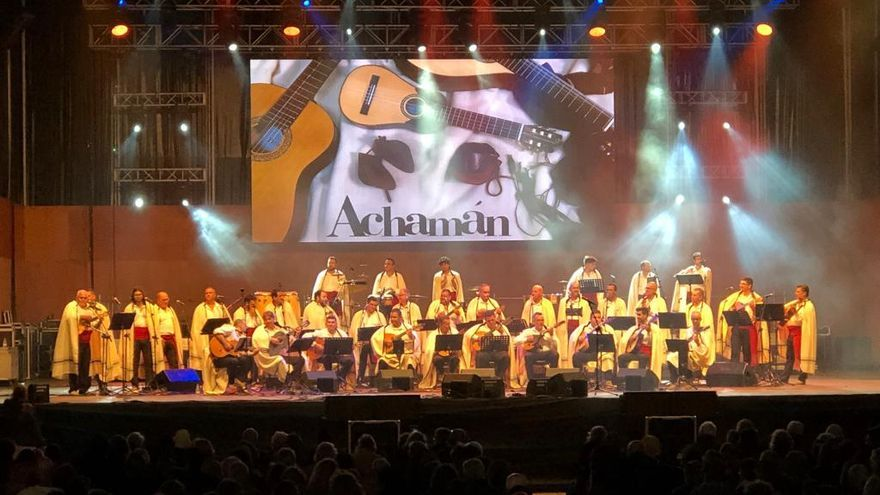 Resultado de imagen de El Teatro Leal acoge este sábado el VII Festival Achamán
