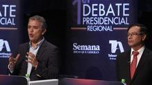 Petro, Vargas Lleras y Fajardo dicen que mantendrán los acuerdos con las FARC