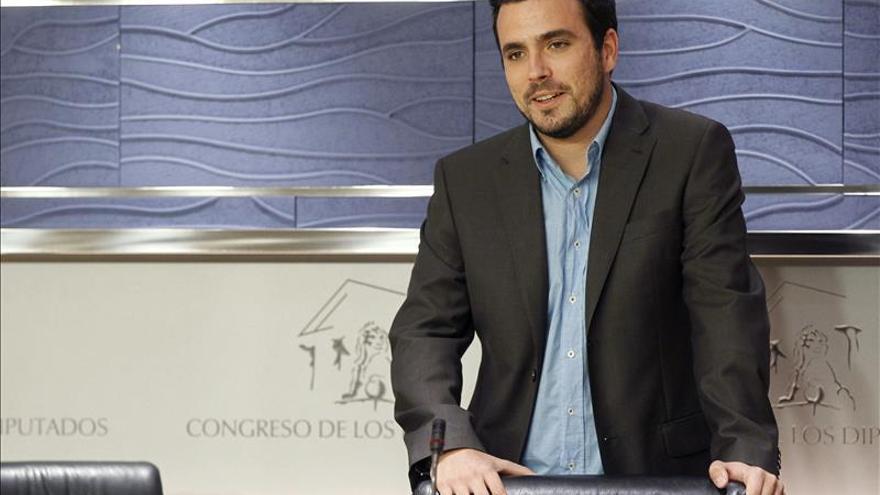 IU apoya una candidatura con Podemos y otras fuerzas para las municipales