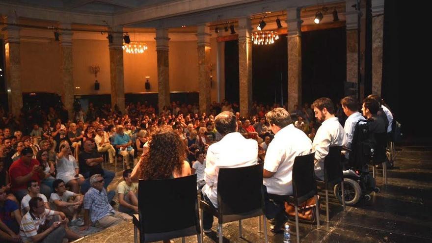 Presentación oficial de Ahora en Común. Foto: cuartopoder.es