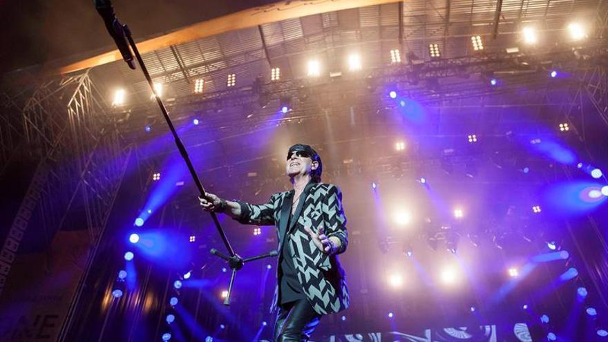 """Los germanos Scorpions """"invaden con rock"""" Emérita Augusta (2017 d.C)"""