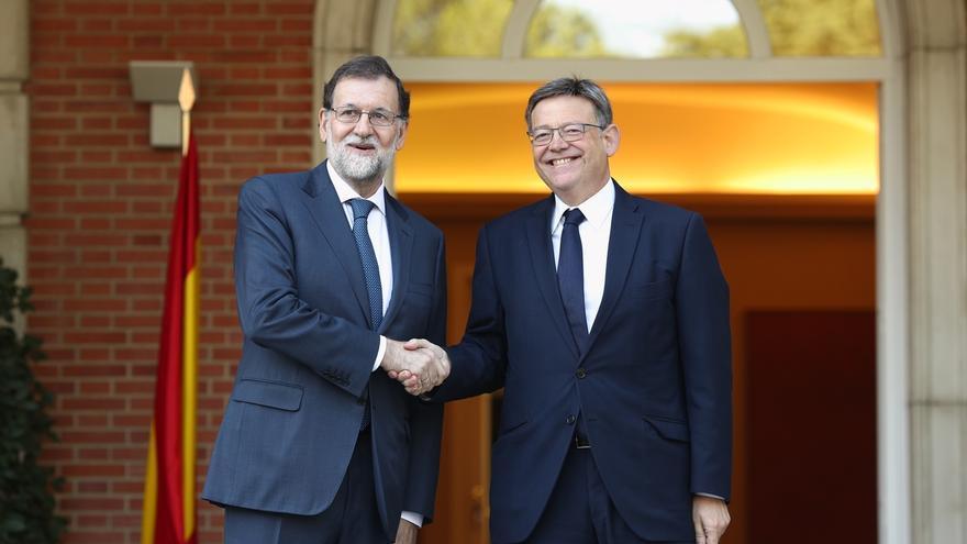"Oltra se muestra ""moderadamente optimista"" después de que Rajoy ""abra la puerta"" a regularizar la deuda de la Comunitat"