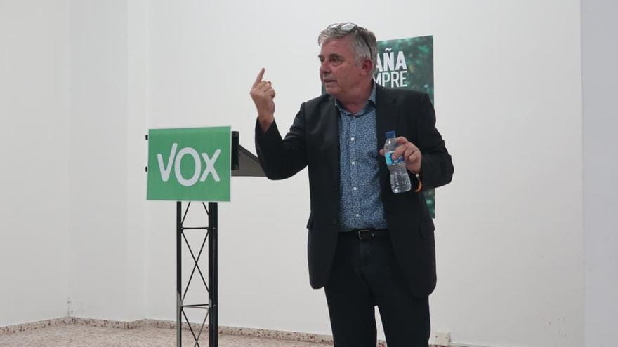Rubén Darío Vega, diputado de Vox.