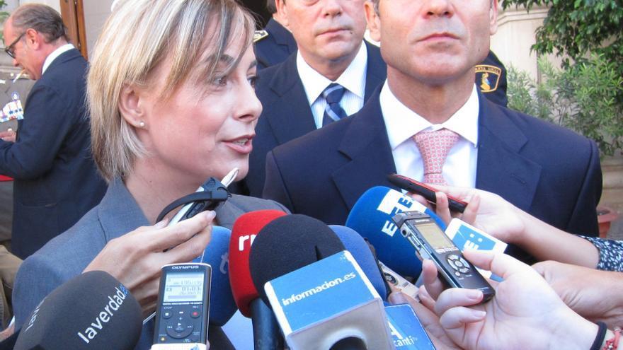 """Castedo confirma que dimitirá como diputada, pero que """"nunca"""" se ha planteado dejar la alcaldía de Alicante"""
