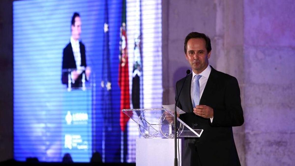 Fernando Medina, alcalde de Lisboa