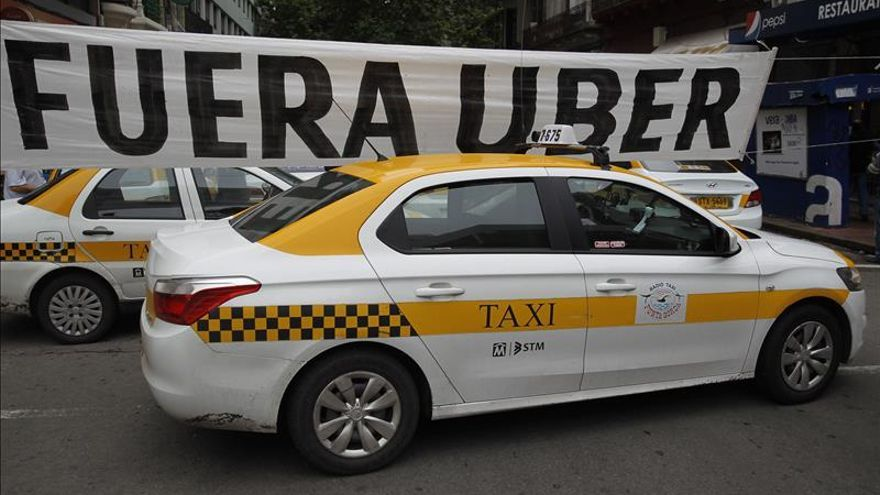 Uber anuncia que comienza a operar hoy en Uruguay
