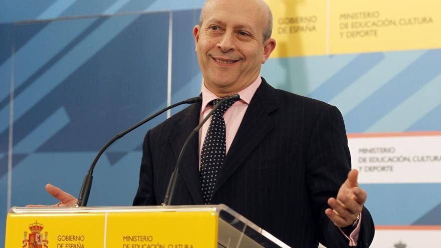 El minsitro de Educación, José Ignacio Wert. / Efe