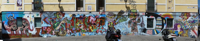 El graffiti, en 2013
