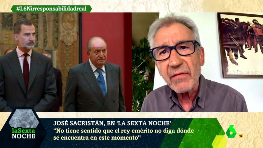 José Sacristán, en 'laSexta Noche'