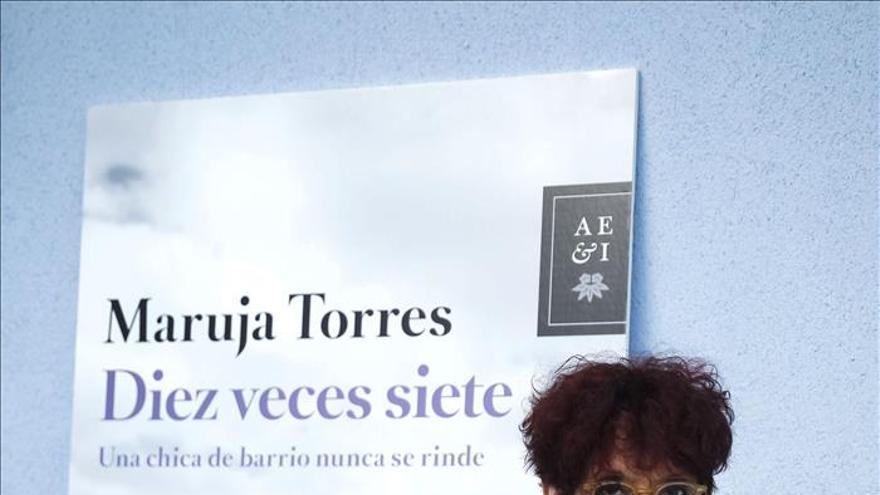 """Maruja Torres afirma que """"el periodismo que sale a bolsa es el que ha fastidiado todo"""""""