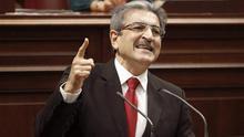 El portavoz ded Nueva Canarias en el Parlamento regional, Román Rodríguez
