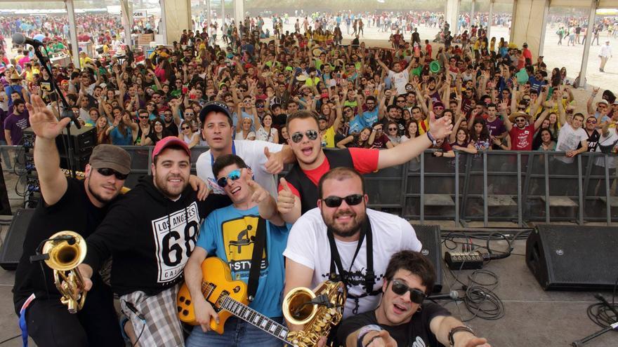 Los integrantes del grupo Rokavieja en un concierto en Valencia durante este año / Archivo Rokavieja