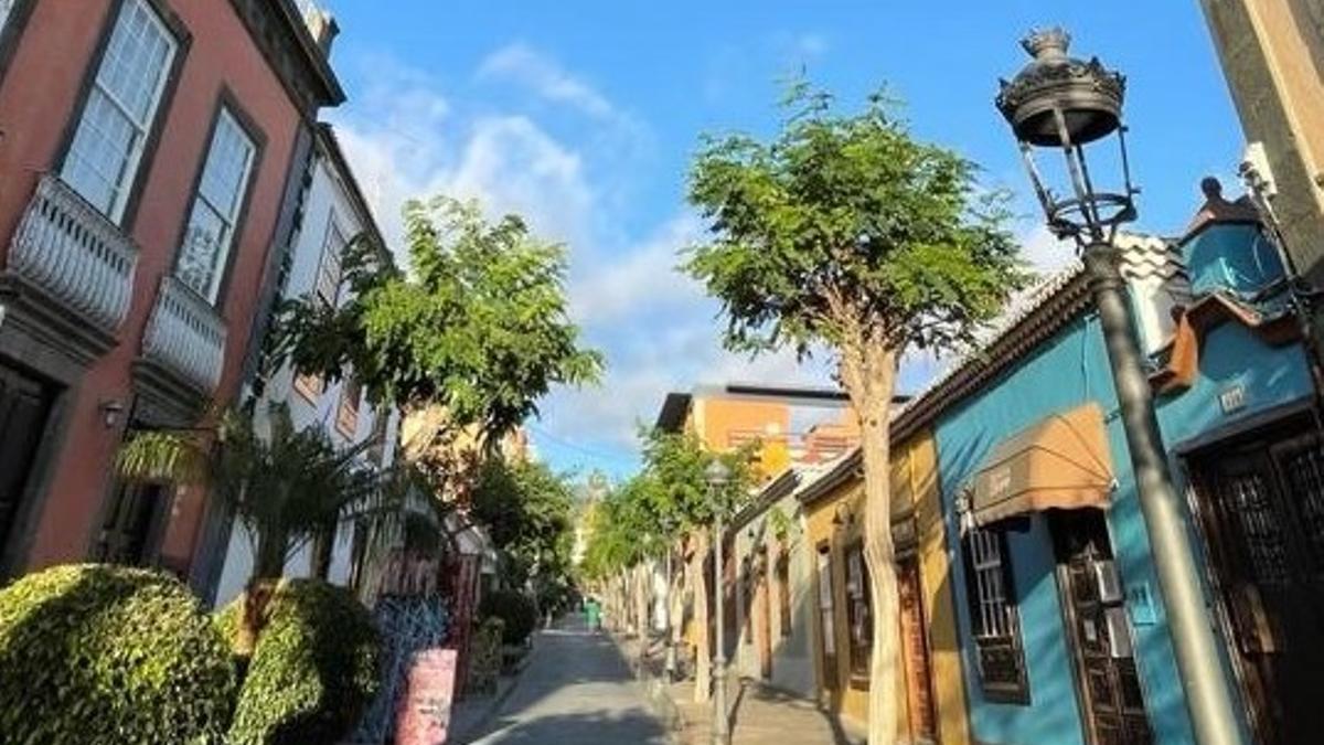 Casco histórico de Los Llanos de Aridane.