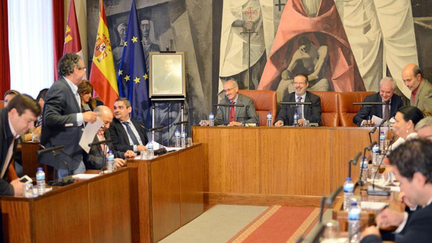Pleno de la Diputación de Ciudad Real / Foto: El CRisol de Ciudad Real