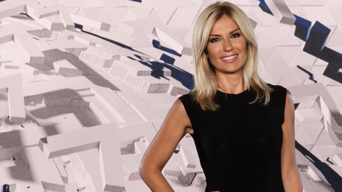 Sandra Golpe, directora del informativo de mediodía de Antena 3 Televisión