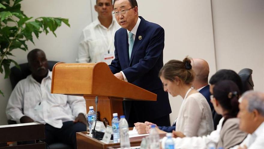 Ban Ki-moon afirma que el cese el fuego fortalece el camino de la paz en Colombia