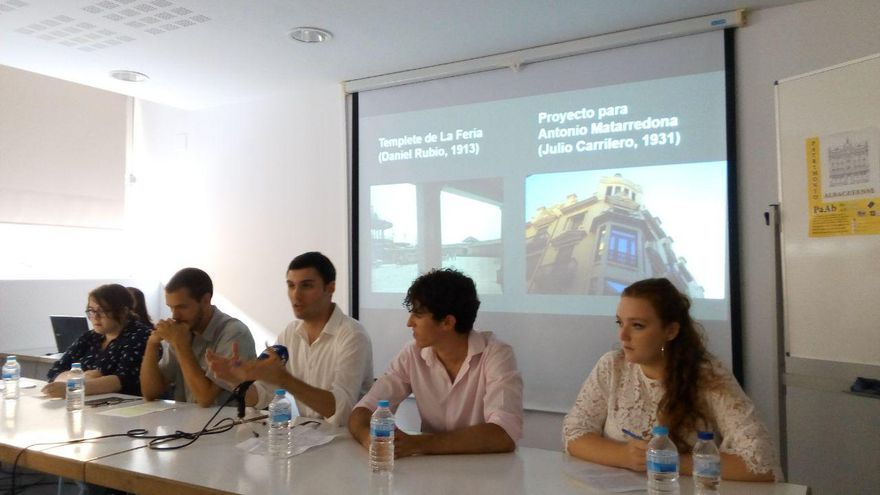Presentación de 'Patrimonio Albacetense' este lunes por la tarde en el Centro Joven de la ciudad.