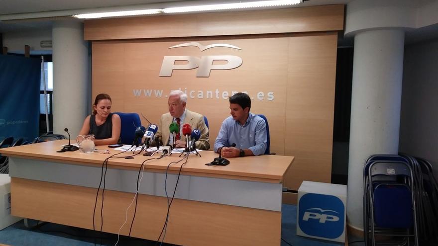 """Margallo asegura que el Estado """"no puede tolerar ningún acto de desobediencia"""" en Cataluña e insta a volver """"a la razón"""""""