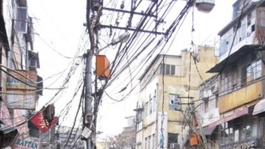 Ciudad de Leh, afectada por inundaciones en India