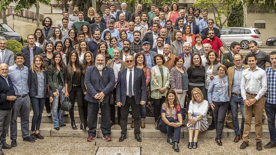 Panel de catadores de los Premios Baco Cosecha 2017