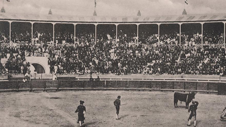 Corrida de toros en Santa Cruz de Tenerife, 1927. (Fedac).