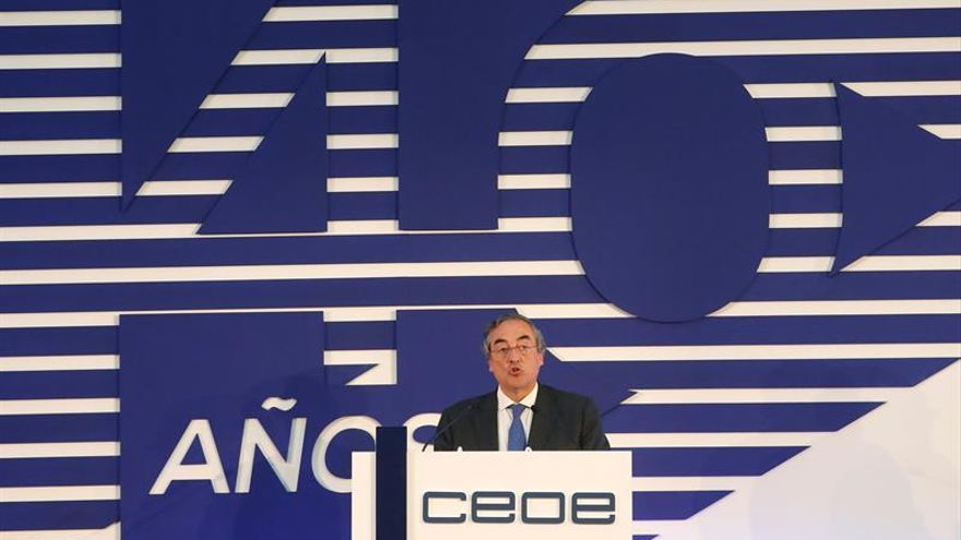 La CEOE pide mejoras y menos cargas para que las empresas sigan creando empleo