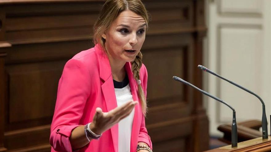 Noemí Santana, consejera de Igualdad del Gobierno de Canarias