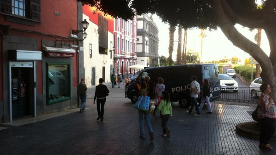 Protesta de empleados de Bankia en LPGC #9