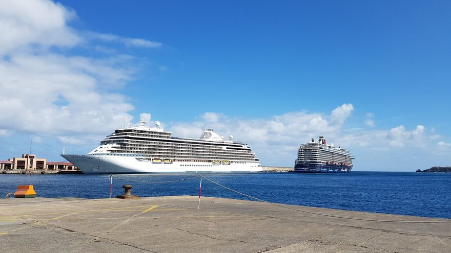 Imagen de archivo del Puerto de Santa Cruz de La Palma.