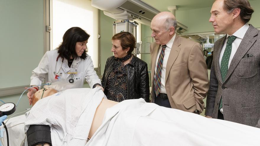El Hospital Virtual Valdecilla aspira a ser centro de referencia en simulación clínica en Latinoamérica