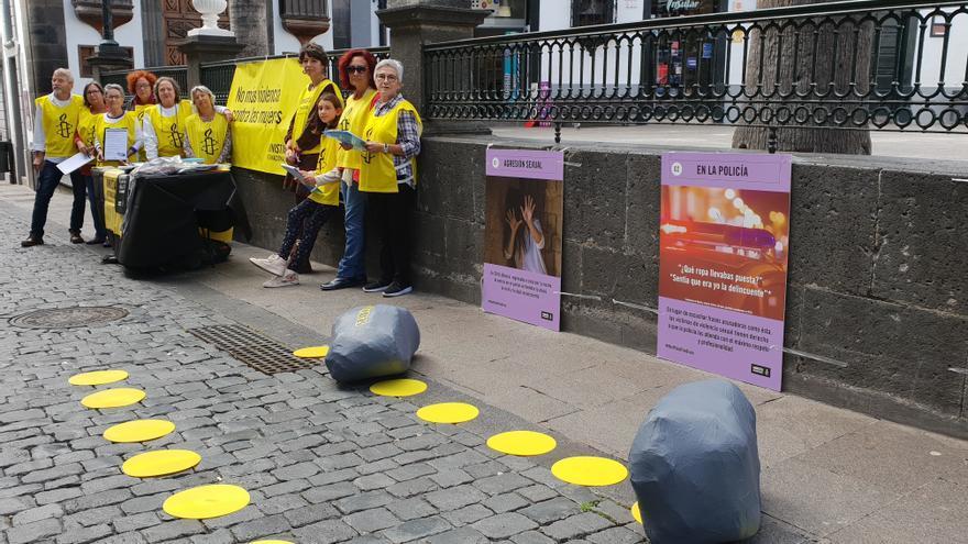 Las mujeres víctimas de la violencia sexual se encuentran con muchas 'piedras'.