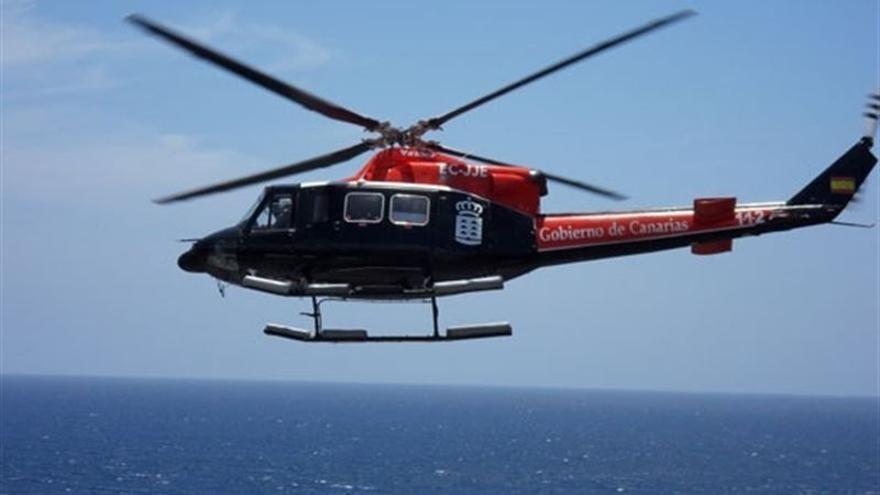 Helicóptero del GES.