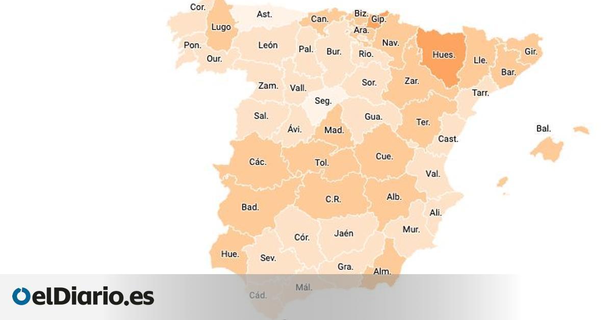 Las 11 provincias donde la COVID es residual: incidencia por debajo de 100 y 2% de ocupación en hospitales