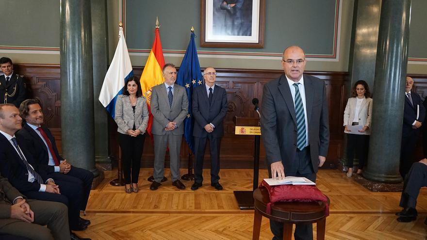 Acto de toma de posesión de Anselmo Pesstana como nuevo delegado del Gobierno de España en Canarias.