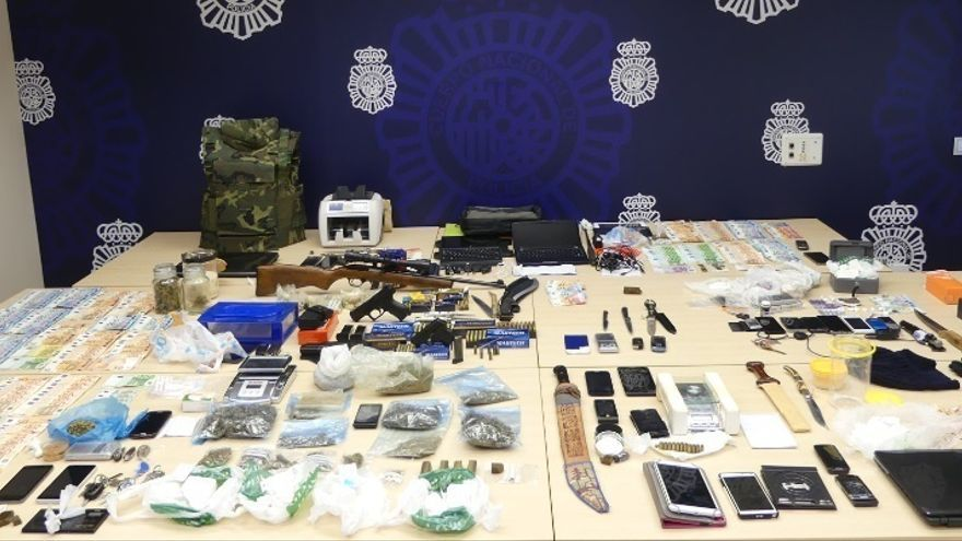 Cae una organización de tráfico de cocaína en Cantabria con la detención de 14 personas