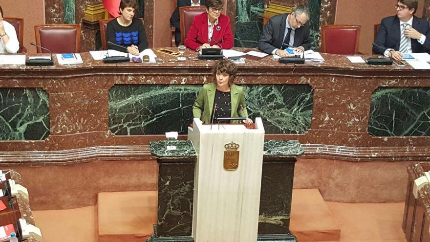 María Giménez defendió la propuesta de Ley de Cuentas Abiertas