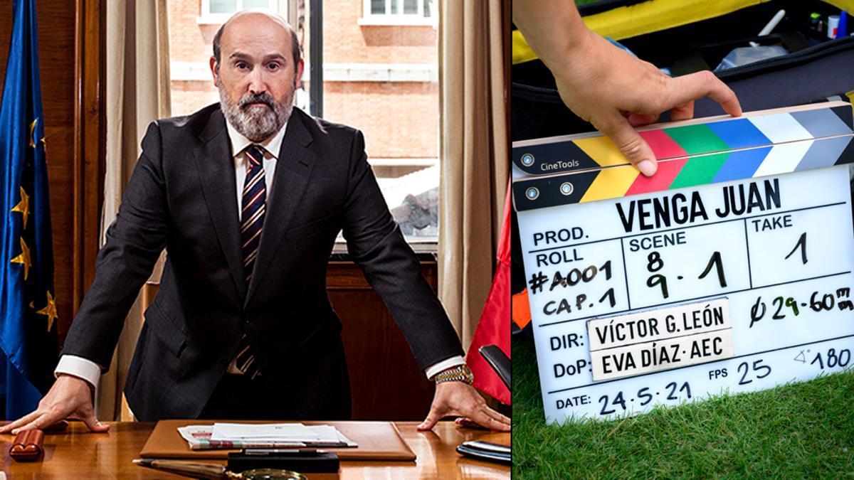 HBO Max comienza la grabación de 'Venga Juan'
