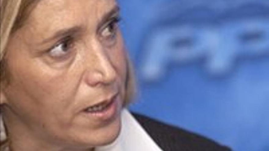 Mercedes Roldós, una pieza clave en el ministerio de prensa y propaganda.