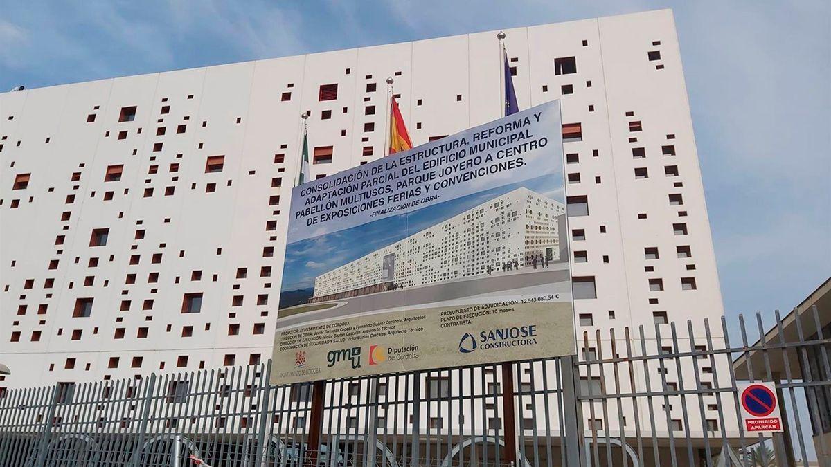 Obras en el Centro de Convenciones.