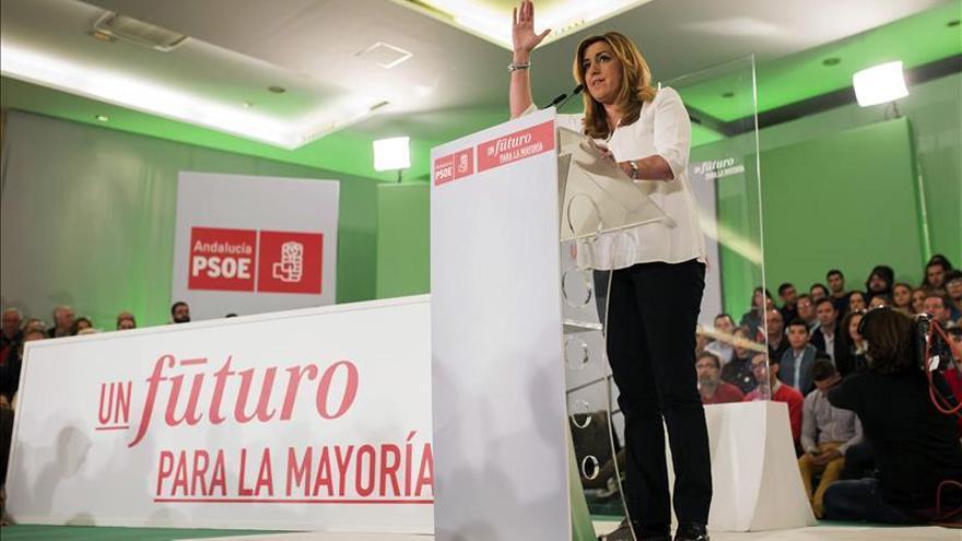 """Susana Díaz: """"Yo no soy recambio de nadie, soy la presidenta de Andalucía"""""""