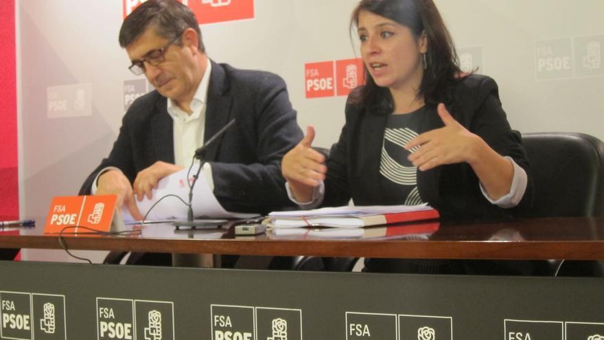 """Adriana Lastra: """"El pacto PP-Foro es el pacto de la Gürtel con el que Cascos vuelve a casa por Navidad"""""""