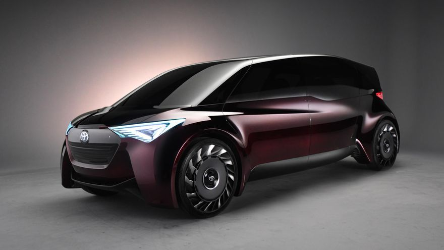 Toyota se presenta en Tokio con dos prototipos de hidrógeno.