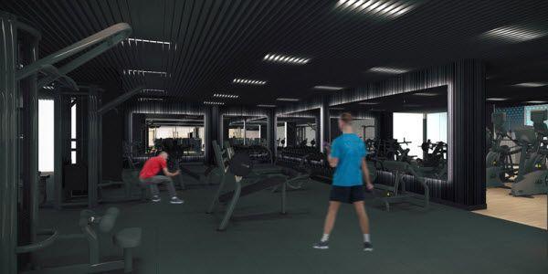 Sala de máquinas del futuro CDM de Barceló | Imagen: Forus