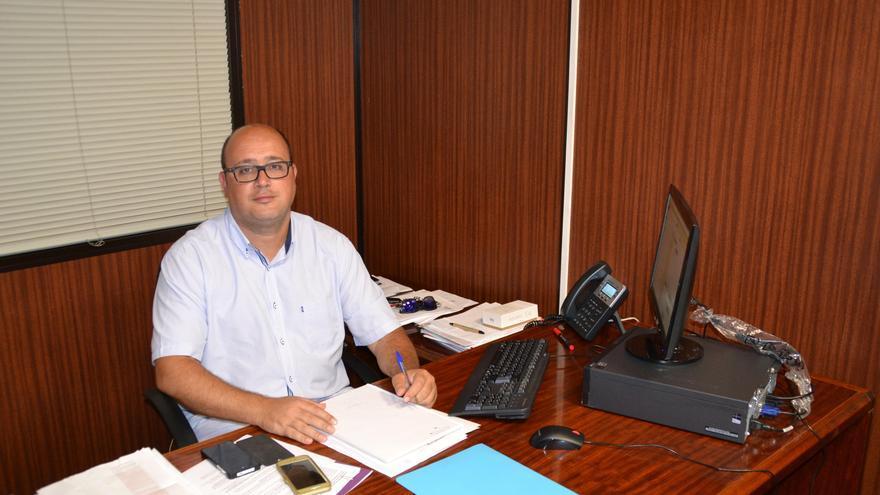Zebenzuí González, concejal de Sanidad, Mercados y Cementerios en La Laguna.