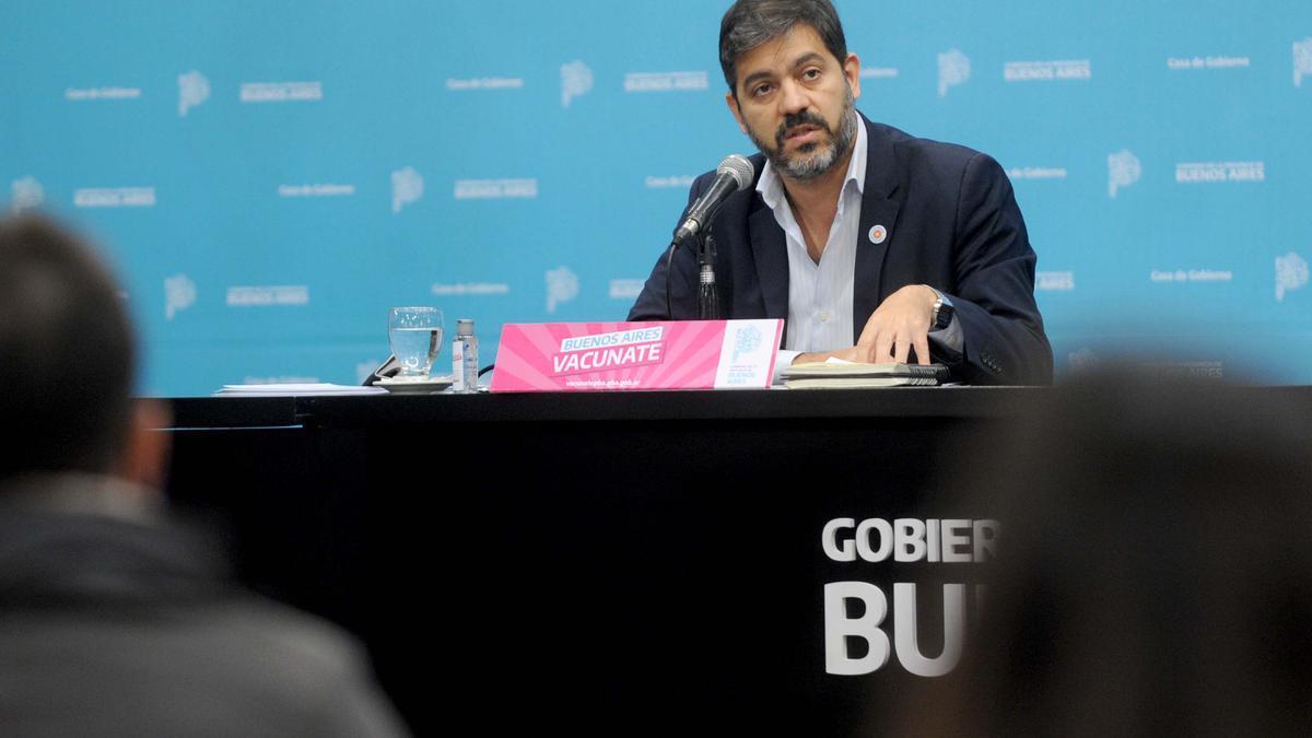 El jefe de Gabinete de la provincia de Buenos Aires, Carlos Bianco.