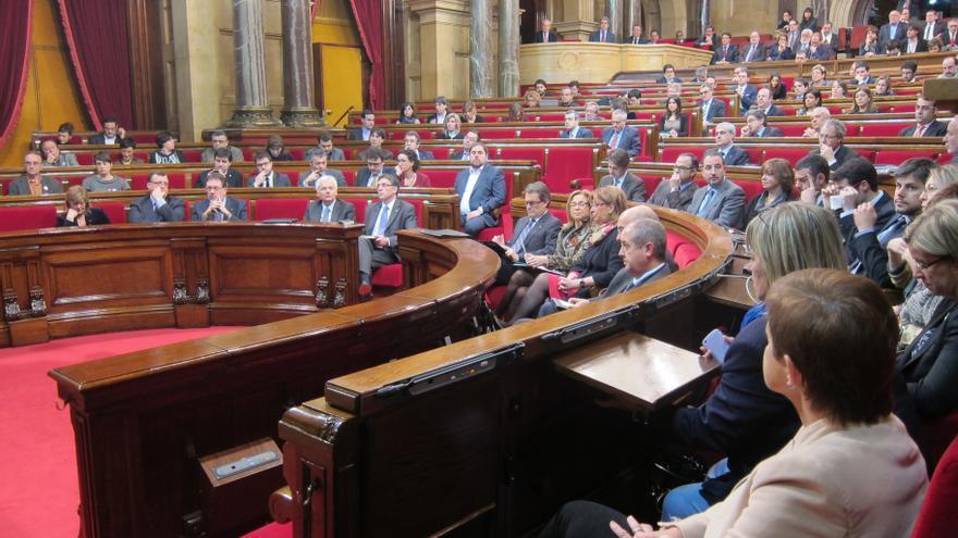 El plazo de enmiendas en el Parlamento catalán a la declaración de soberanía finaliza hoy