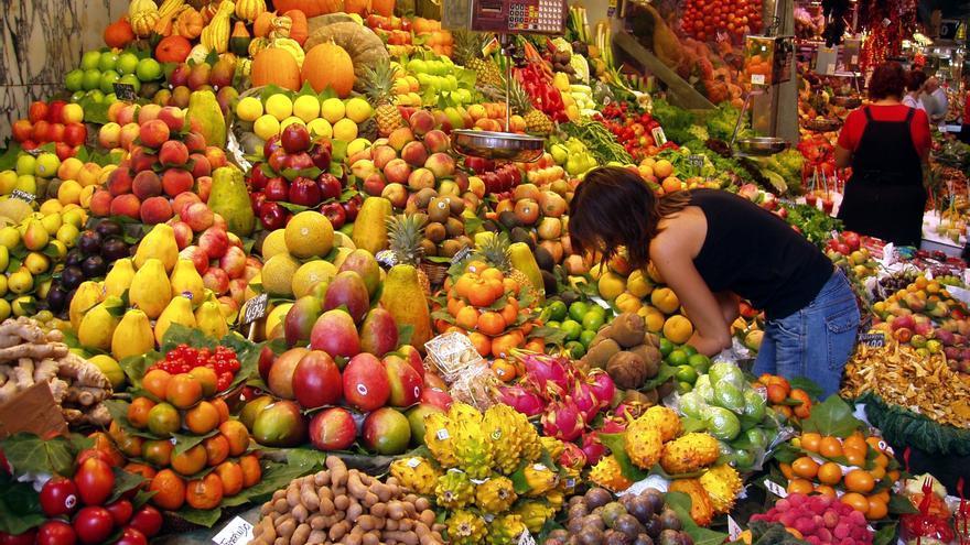 Frutas y verduras, base de la cultura vegana.