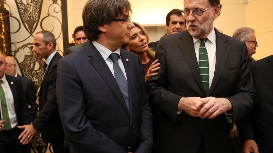 """Puigdemont contesta a Rajoy: """"Una Cataluña independiente puede llegar al máximo grado de colaboración con España"""""""