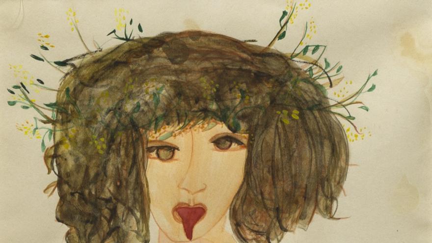 La pasión de Carol Rama: Dorina, 1944