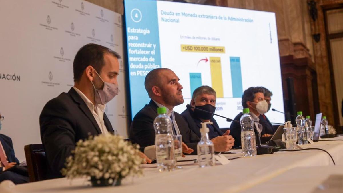 Martín Guzmán expuso en la Bicameral de Seguimiento de Deuda Externa